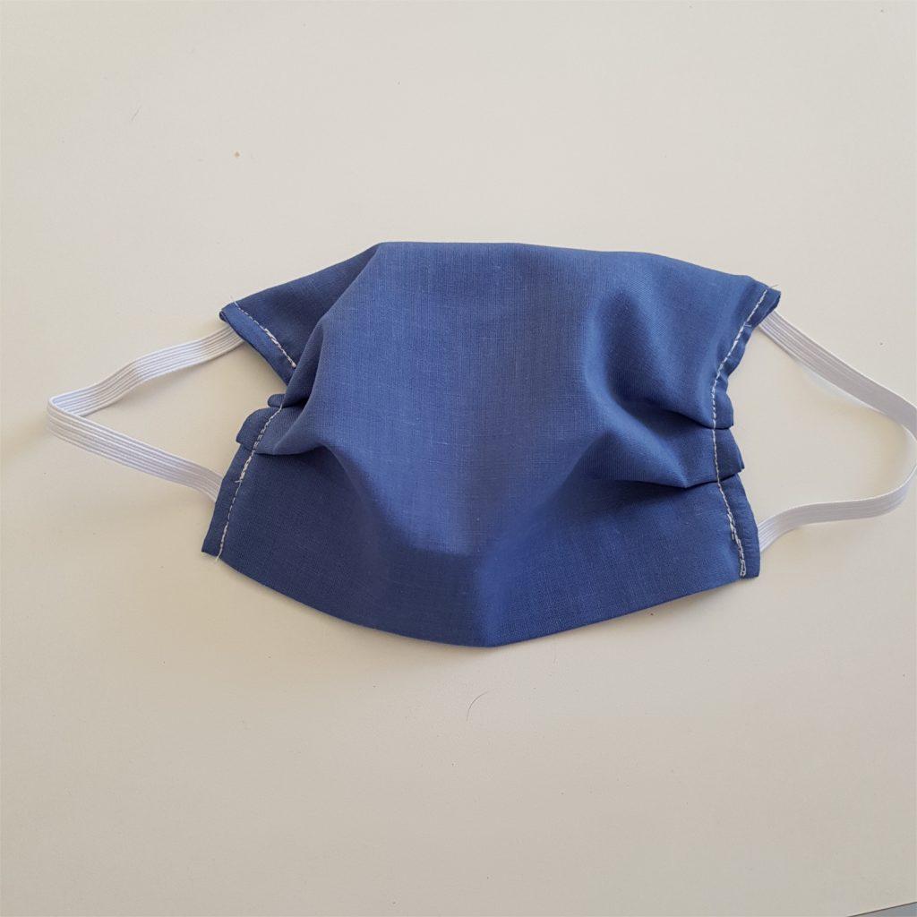 masque en tissu vue de devant