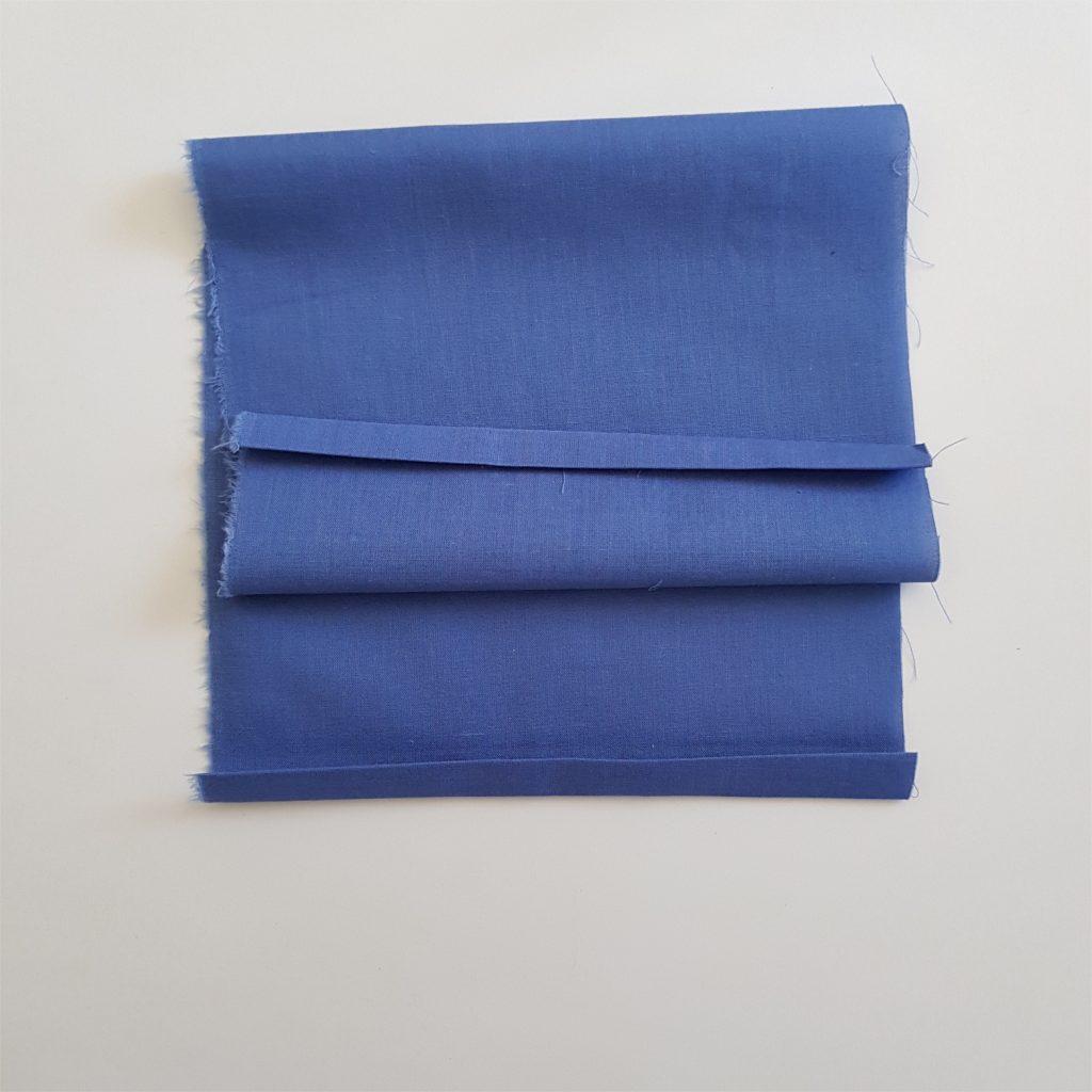 ourlet a chaque extrémité du tissu