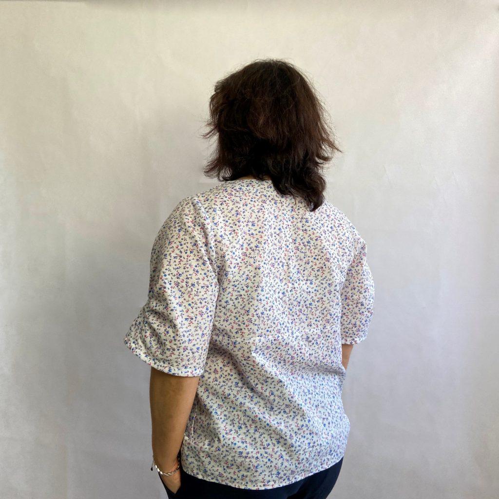 patron couture blouse valeria dos