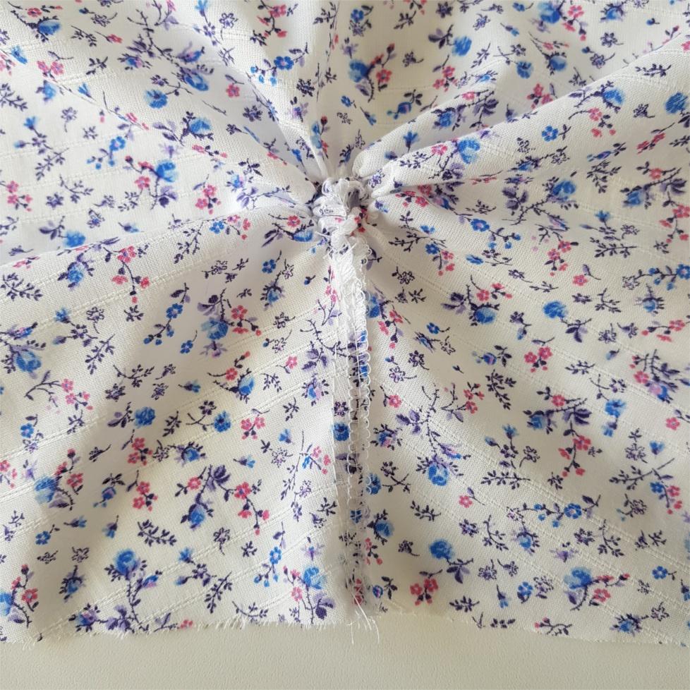 seizième étape pour coudre la blouse Valeria